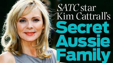 Kim Cattrall's secret Aussie family