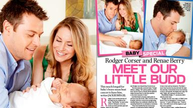 Rodger Corser and Renae Berry: Meet our little Budd