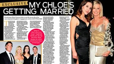 Olivia Newton John: My Chloe's getting married!