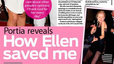 Portia de Rossi reveals: How Ellen saved me