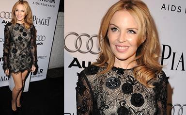 Kylie Minogue on strict water diet?