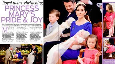 Princess Mary's pride and joy!