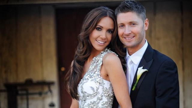 Michael Clarke weds Kyly Boldy