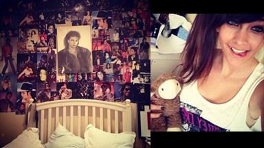 Paris Jackson posts pic of bedside shrine to dad Michael