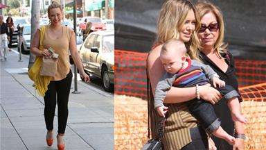 Hilary Duff slams body after baby pressure