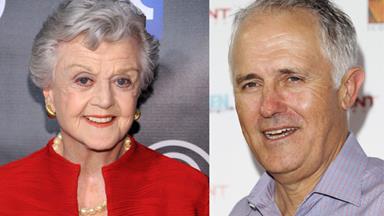 Angela Lansbury: I'm Malcolm Turnbull's cousin!