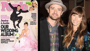 Justin Timberlake and Jessica Biel's wedding details