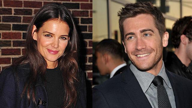 Katie Holmes and Jake Gyllenhaal's shock romance
