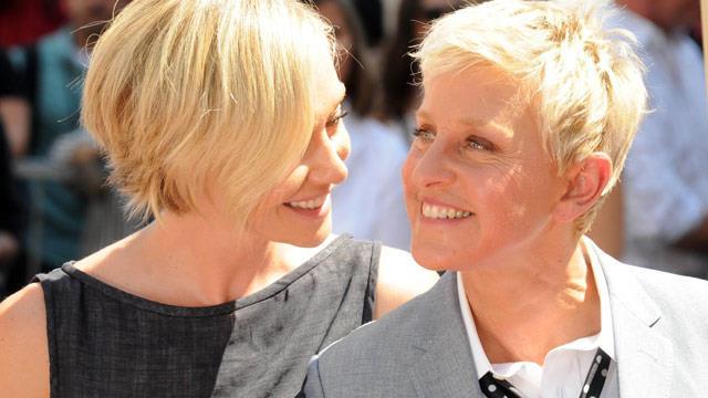 Ellen and Portia: The look of love