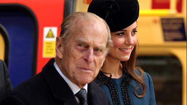 Prince Philip's illness delays royal family portrait