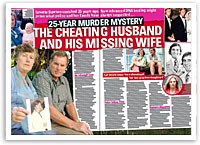 The cheating husband and his missing wife