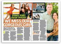 Sydney ferry crash tragedy