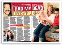 I had my dead lover's babies