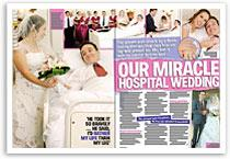 Our miracle hospital wedding