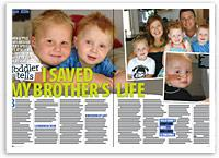 I saved my brother's life