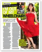 Miracle MS recovery...I'm out of my wheelchair!