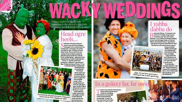 Wacky weddings
