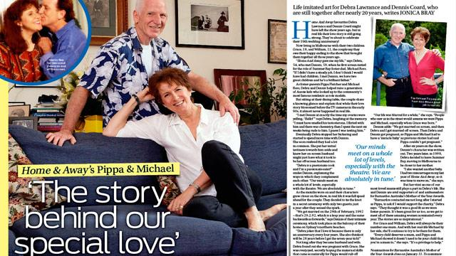 Home and Away's Pippa and Michale: Our real life love story