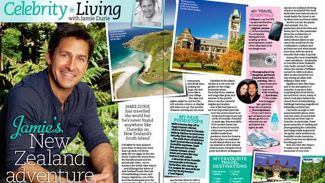 Jamie's New Zealand adventure!