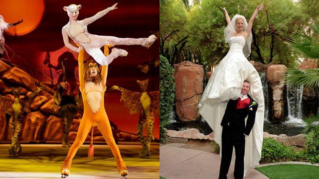 Disney on Ice stars fall in love