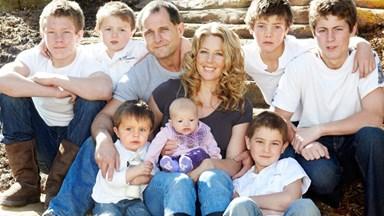 After seven boys, we finally had a girl through IVF!