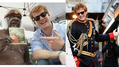 Prince Harry lookalike: My life as the partying Prince Harry