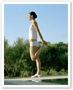 Celebrity workouts: Pilates