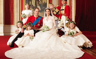 Royal Wedding official portraits
