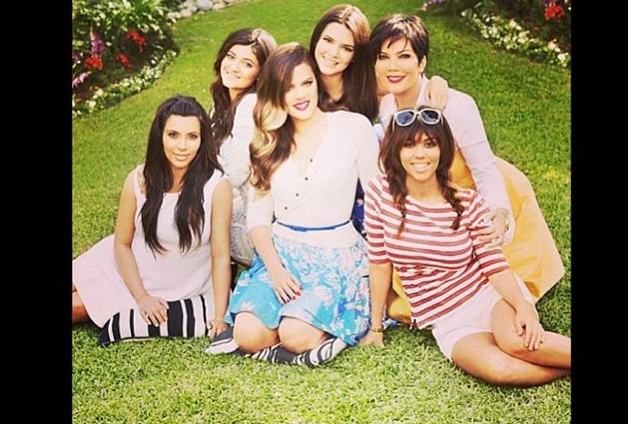 Series eight of *Keeping up with the Kardashians* premieres today in the US.