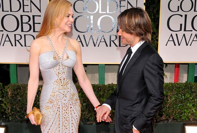 Chivalry is alive at the 2012 Golden Globes.