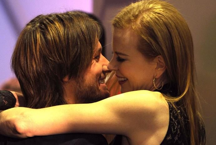 In love at the 2010 People's Choice Awards.
