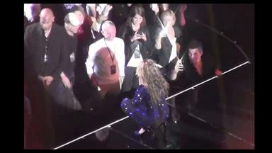 Beyoncé sings to Princess Eugenie