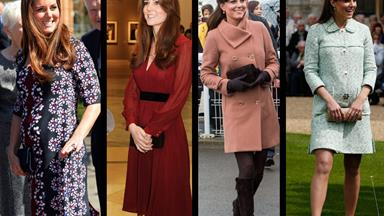 Kate's stunning maternity style