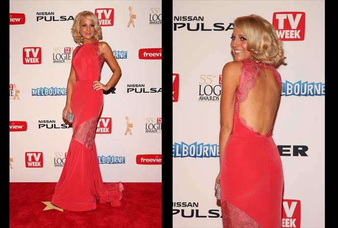 Carrie was a stand out at this year's Logie Awards.