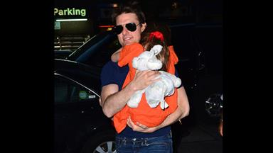 Tom Cruise is reunited with Suri