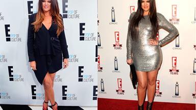 Khloe Kardashian slims down