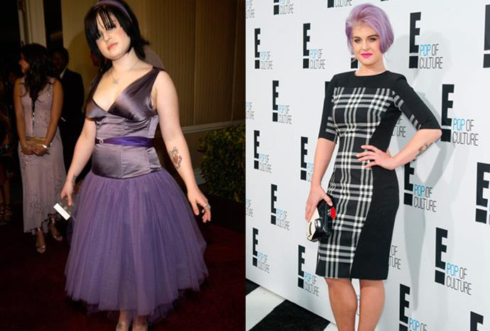 Kelly Osbourne lost more than 20 kilos during her slim down.