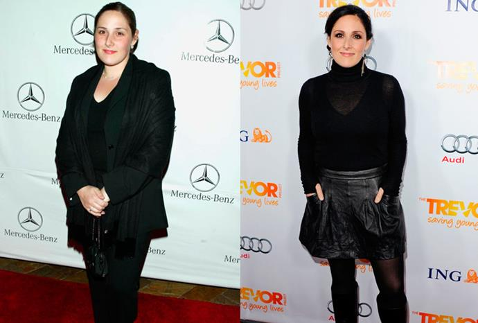 Ricki Lake, also lost weight through the dancing show.