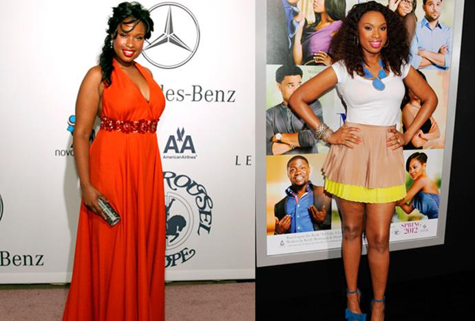 Jennifer Hudson lost 10 dress sizes during her weight loss.