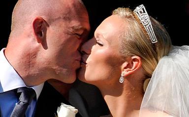 Zara and Mike's royal wedding