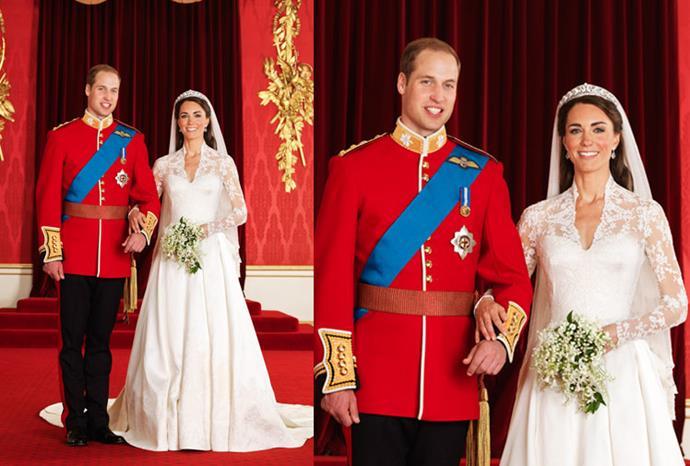 Royal wedding official portrait