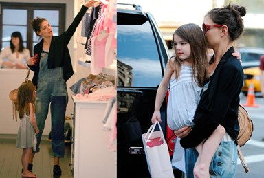 Suri's $1000 shopping spree!