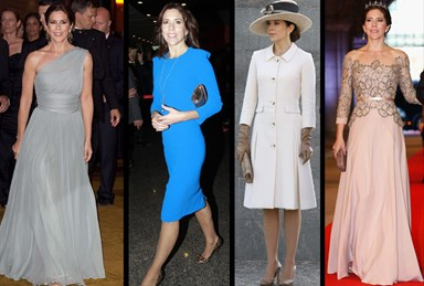 Princess Mary voted most stylish