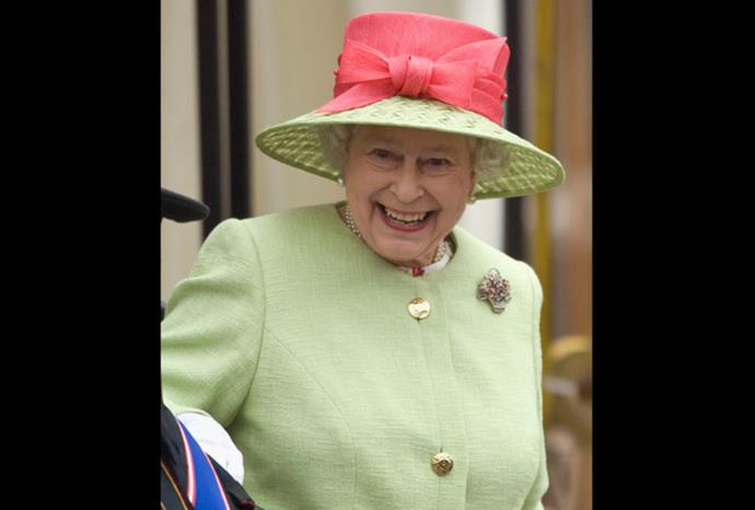 The Queen at the opening of the third session of the Scottish Parliament in 2007.