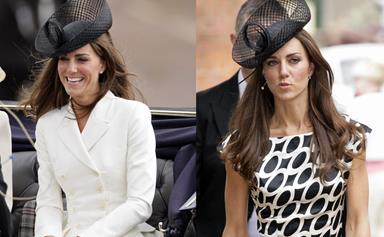 Hats off to Kate's recycled style