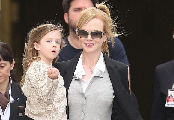 We bet that Nicole Kidman's daughter Sunday Rose will look just like her famous mum when she grows up!