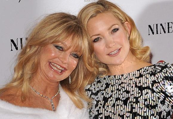 Goldie Hawn and her actress daughter Kate Hudson not only share the same looks, they also share the same fun-loving attitude towards life.