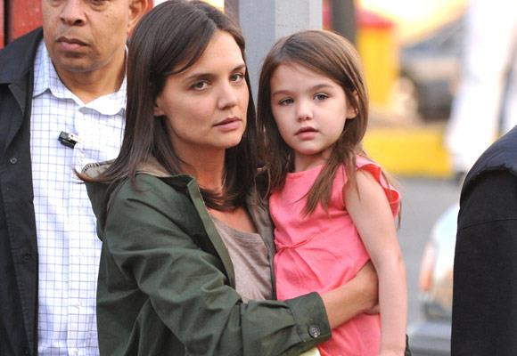 Katie Holmes and Suri Cruise sported the same hairstyle for a while, but even without the matching do, the pair still look the same.