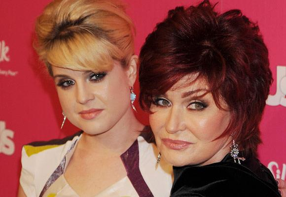 Kelly and her mum Sharon Osbourne, share the same eyes and the same strong attitude towards life.