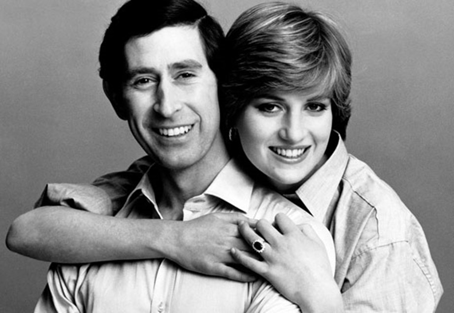 Prince Charles and Princess Diana in happier times.